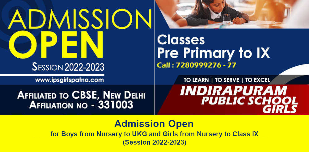 Indirapuram Public School - Best Girls School in Patna